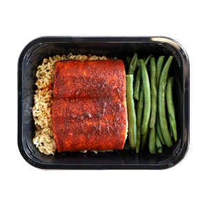 Smoked Maple Glazed Salmon