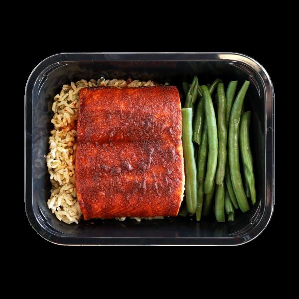 Smoked Maple Glazed Salmon
