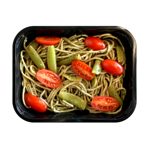 Whole Wheat Spaghetti and Pesto